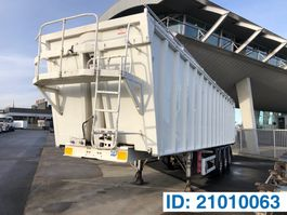 tipper semi trailer Benalu Aluminum Bulk liner 2012