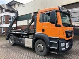 swap body truck MAN 18.400 TGS Meiller AK 12 MT AHK Euro 6 2016