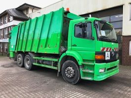 garbage truck Mercedes-Benz 2528 6x2 Atego Faun 22/901 E 2000