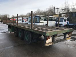 flatbed semi trailer Pacton PLATEAU - FLATBED -TAMBOURS 1993