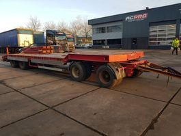 lowloader trailer Goldhofer 4 as