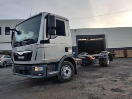 chassis cab truck MAN TGL 12 Chassis cabine Euro6 2014