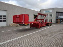 tipper semi trailer TSR Flange trailer 2000