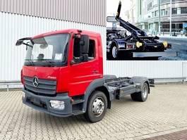 swap body truck Mercedes-Benz Atego 1218 L 4x2 Atego 1218 L 4x2, City-Abroller 6/8t Anlage 2014
