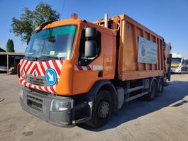 garbage truck Renault P 320 Dxi 6X2 + FAUN Wastecollector / Müllwagen / Benne Ordures 2008