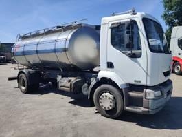 tank truck Renault 270 Dci - 11000 L INOX TANK Foodstuff / Lebensmittel / Alimentaire 2004