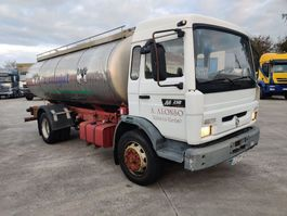 tank truck Renault M 250 - 16 Inox Foodstuff / Alimentaire Isotherm Tanker 11000 L 1997