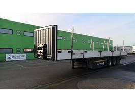 flatbed semi trailer Krone SD 2010