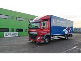 closed box truck DAF XF 460 FT 2016
