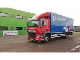 closed box truck DAF CF 250 FA 2014