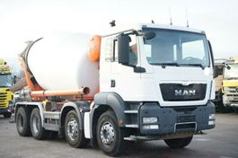 concrete mixer truck MAN TGS 35.360 8x4 BB Mixer Stetter 9m³ 2013