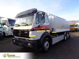 tank truck Mercedes-Benz 2531L + MANUAL + 18.500 L + 3 COMP + PTO 1996