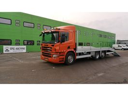 car transporter truck Scania P280 280B 6x2 2009