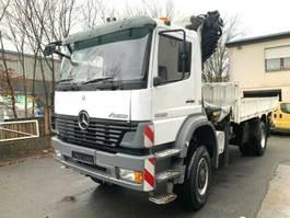 crane truck Mercedes-Benz 4x4  1828 PALFINGER PK 27000 E WINDE KRAN CRAN 2001