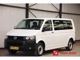 minivan - passenger coach car Volkswagen Transporter Kombi 2.0 TDI 140PK LANG 9 persoons personenvervoer Kombi AUTOMAAT AIRCO... 2013