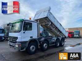 tipper truck > 7.5 t Mercedes-Benz Actros 4141 K 8x4/4 BiBenne BordMatic 2008 2008