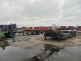 container chassis semi trailer Pacton T3-007 2006