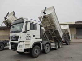 tipper truck > 7.5 t MAN TGS 41.480 8X4 2015