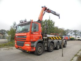 container truck DAF CF 85.410 10X4 2008