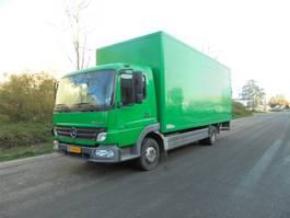 closed box truck Mercedes-Benz 1018L 2007