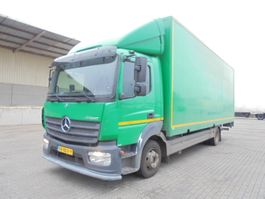 closed box truck Mercedes-Benz Atego 1018 2014