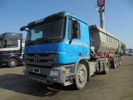 tipper truck > 7.5 t Mercedes-Benz 1944 LS + MEILLER 2011