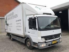 closed box truck Mercedes-Benz Atego