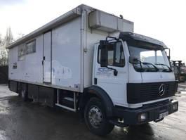 closed box truck Mercedes-Benz 1922 V6 **BELGIAN TRUCK-FULL STEEL-BIG AXXLE** 1990
