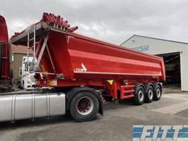 tipper semi trailer Stas 3 ass * 472 - stalen kipper 28 m3,  alu chassis, 2016
