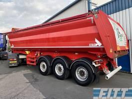 tipper semi trailer Stas 3 ass * 471 - stalen kipper 28 m3,  alu chassis 2016