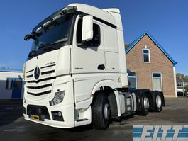 cab over engine Mercedes-Benz ACTROS 2545 6x2 voorloopas stuur/lift 2015