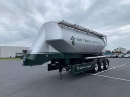 tank semi trailer semi trailer Feldbinder 36m3,onderlosser,Borgerpomp 2015