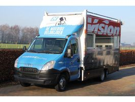closed lcv Iveco Daily 50C17 58000 KM FOODTRUCK KOFFER MEUBELBAK 2012