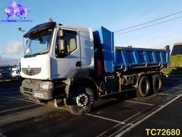 tipper truck > 7.5 t Renault Kerax 450 Euro 4 INTARDER 2008