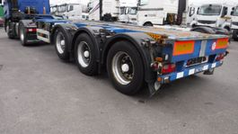 container chassis semi trailer Pacton 45' HC polyvalent containerchassis 2008
