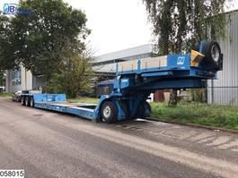 Tieflader Auflieger Nicolas Lowbed 76000 KG, 2,50 mtr Extendable, 3,5 inch/Duim kin 2009