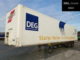 closed box semi trailer Schmitz Cargobull SKO 18 / 2 Achsen / Rolltor