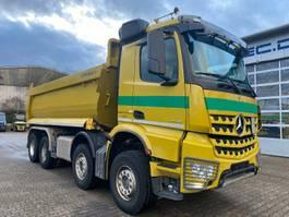 drop side truck Mercedes-Benz Arocs 4146 8x4 EURO6 Muldenkipper TOP!