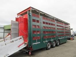 Viehauflieger Pezzaioli SBA 63 S 2013