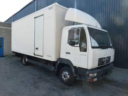 closed box truck MAN LE 8 150 SPRING /LAMMES  L2000 2005