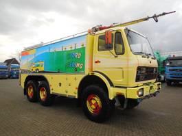 tank truck Mercedes-Benz SK 2631 2632 AK MANUAL 6X6 1978