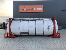 tank container 20FT, swapbody, 24.940L TC, 1 comp., UNPORTABLE, T7, valid 2,5y insp. until 08/2022 1998