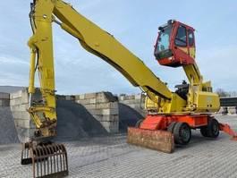 wheeled excavator Sennebogen 818M 2012