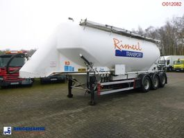tank semi trailer semi trailer Feldbinder Powder tank alu 40 m3 / 1comp 2020