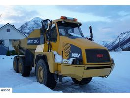 Gelenkmuldenkipper Moxy MT26 6x6 with white signs 2005