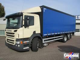 sliding curtain truck Scania P280 6X2 Euro 5 2013