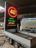 other car trailers Hapert AL2001 Reclame / Signalisatie