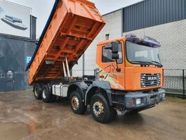 tipper truck > 7.5 t MAN 2002
