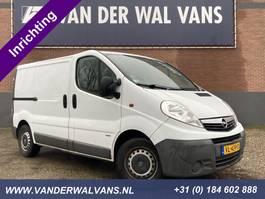 closed lcv Opel Vivaro 2.0CDTI L1H1 *inrichting* Airco, cruise, navigatie, trekhaak, parkeersen... 2014