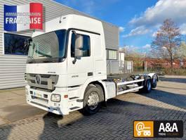 chassis cab truck Mercedes-Benz Actros 2536 6x2 BDF Mega F04 370.000 KM 2012